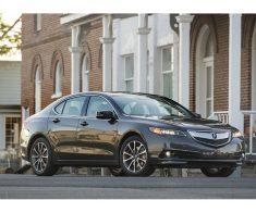 Acura TLX. Вид спереди